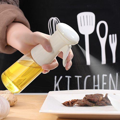 Olive Oil Bottle Sprayer for Cooking Sprayer Mist Air Fryer Kitchen Oil Dispenser Spritzer for Baking BBQ Salad 7oz/210ml