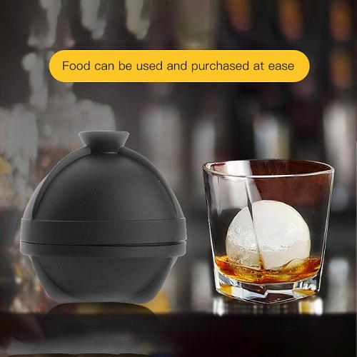 New 6CM Round Ball Ice Cube Mold DIY Ice Cream Maker Plastic Ice Mould Whiskey Ice Tray for Bar Tool Kitchen Gadget Accessories
