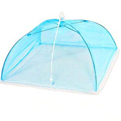 Pop-Up Mesh Screen Protect Food Cover Tent Dome Net Umbrella Picnic Kitchen Folded Mesh Anti Fly Mosquito Umbrella