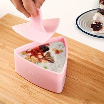 DIY Sushi Mold Kitchen Triangle Rice Ball Mold Maker Non-Stick Food Press Sushi Seaweed Rice Ball Mold Kitchen Bento Accessories