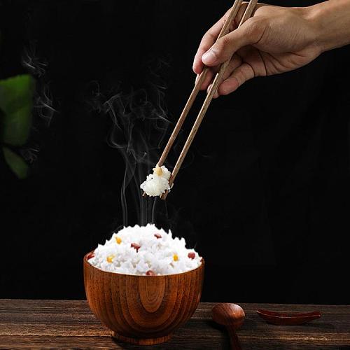 Reusable10 Pair Set Handmade Bamboo Japanese Natural Wood Chopsticks Sushi Food Hotel-use Wooden Chop Sticks Solid Wood Tablewar