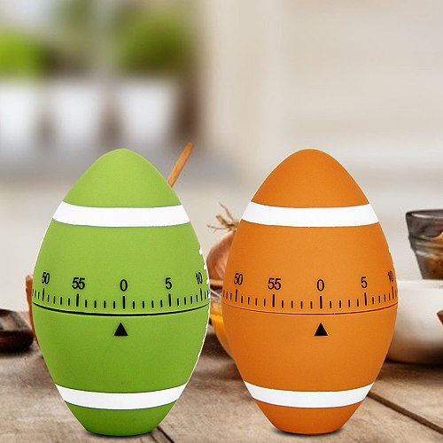 Rugby Shaped Mechanical Cooking Timer Cute 60 Minutes Kitchen Timer Reminder Easy Operate Cooking Baking Helper Kitchen Decor