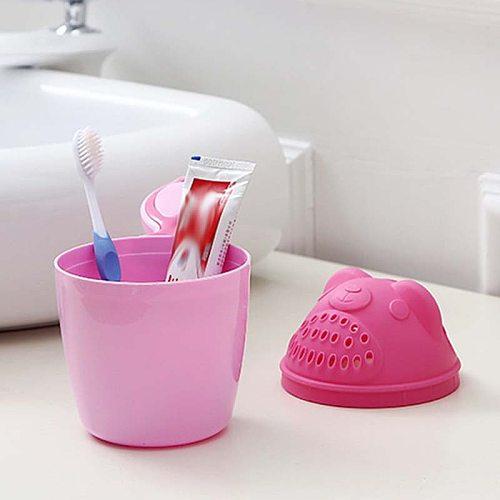 2Colors Newborn Baby Care Shampoo Cup Shampoo Cup Showers Shampoo Scoop Plastic Water Spoon Bebe Baby Bath Tub Bath Infantil Toy
