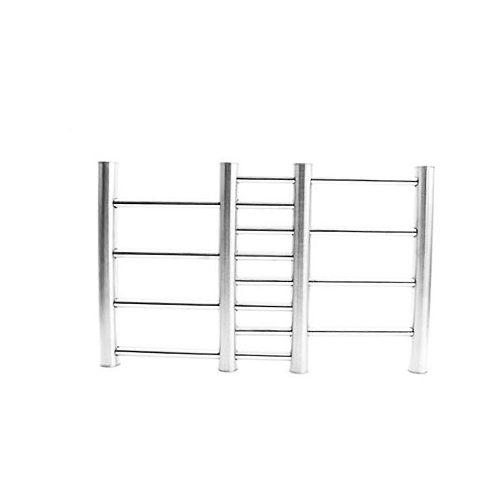 Adjustable Stainless Steel Kitchen Insulation Pads Ladder Trivet Worktop Saver Pot Pan Stand Rack Kitchen Gadget 3
