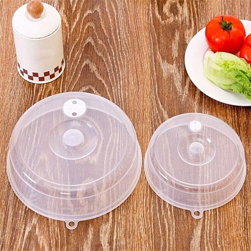1Pc Food Cover Microwave Oil Cap Heated Sealed Cover Multifunctional Dust Dish Kitchen Tool              mar5