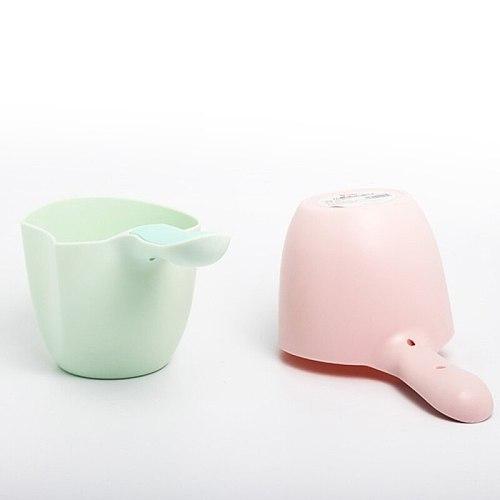 Baby Bath Cap Bathing Scoop Plastic Water Scoop Baby Shampoo Bath Spoon Child Wash Hair Rinse Cup Kids Bath Waterfall Mini Cups