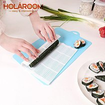 Holaroom New Arrival Sushi Maker Great Plastic Sushi Rolling Mat DIY Durable 1 pc Kitchen Tools