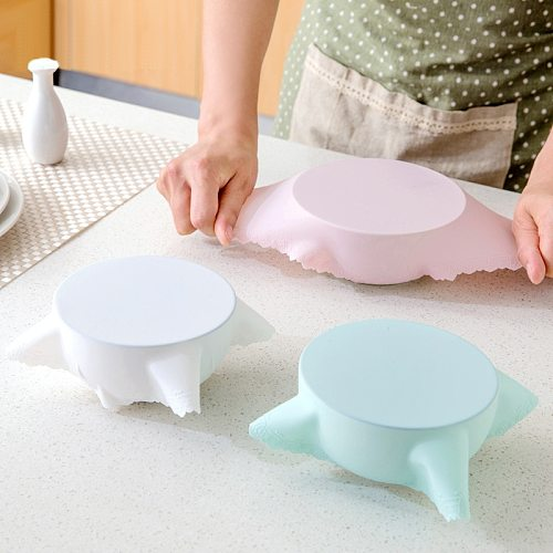 Food-Grade Silicone Fresh-Keeping Cover Kitchen Utensils High Elasticity Stretchable Vacuum Container Into The Microwave Oven