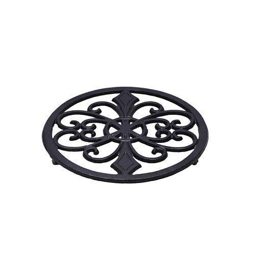 20cm Cast Iron Trivet Mat Placemat Flowerpot Frame Casting Metal Decorations
