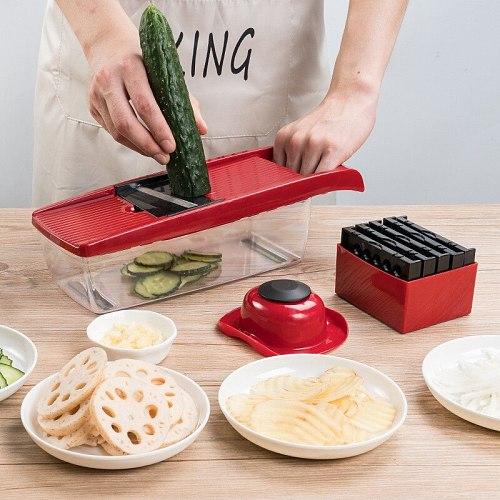 Multifunctional Vegetable cutter garlic onion chopper Fruit peeler vegetable potato slicer Carrot grater kitchen accessories