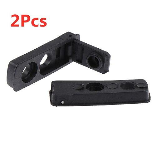2pc Black Cigarette Lighter Rubber bottom Kerosene Lighters Inner Parts for Reduce Volatile Gasoline Cigarette Lighter Accessory