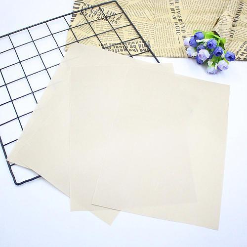 10pcs Baking Oil Paper Heat-Resistant Pad Non-stick Outdoor BBQ Mat Reusable Baking Mat High Temperature Resistant Pastry Cloth