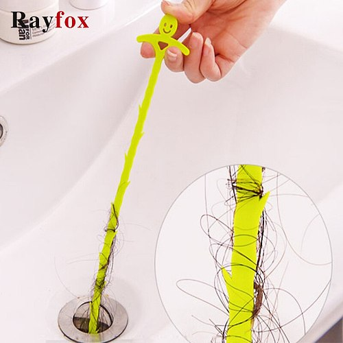 Kitchen Accessories Tools Sewer Cleaning Hook Home Bathroom Kitchen Floor Drain Sink Bathtub Dredge Device Kitchen Gadgets 51cm