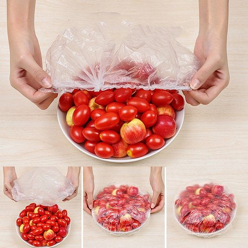 Disposable fresh-keeping film cover disposable sealed fresh-keeping bowl cover eco friendly products  food storage