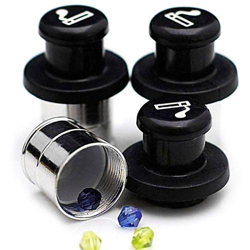 Cigarette Lighter Design Hidden Car Insert Case Pill Box Container Safe Storage Pillcase Pill Box Drop Ship