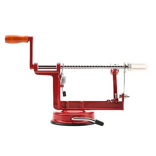 New Apple Peeler Stainless Steel Fruit Peeler Slicing Machine Hand-cranked Apple Fruit Machine Peeled Tool Creative Home Kitchen