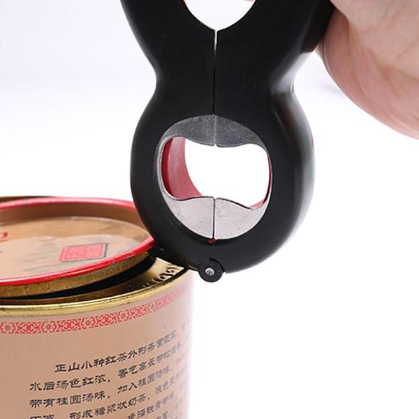 6 in 1 Multi Function Twist Bottle Opener Multifunction Opener Stainless Steel Can Bottle Caps Open Jar Kitchen Tool Dropship