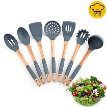 Silicone Kitchenware Set Kitchen Utensils Non-stick Cooking Tools Kitchenware Set of Kitchen Appliances Silicone Kitchen Kit