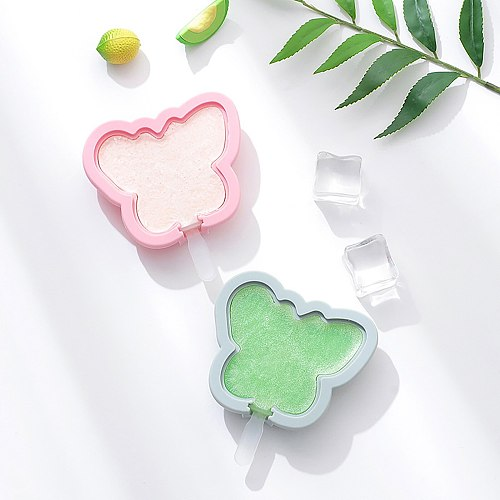 Butterfly Shape Handmade Diy Silicone Ice Cream Mold Making Ice Box Popsicle Mold Ice Maker Summer Kitchen Tools