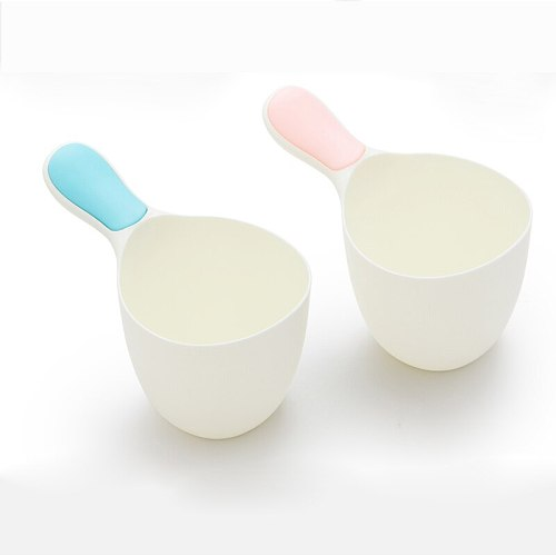 2Pcs High quality simple baby shampoo cup/ baby shampoo bailer water scoop cup