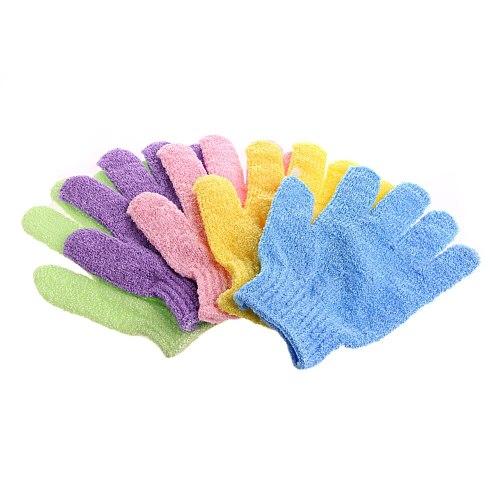 1Pc Bath Glove Exfoliating Wash Skin Spa Massage Shower Scrub Scrubber Dropship