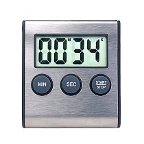 Pcs With Strong Alarm Multifunction LCD Digital Small Clock 99 Minutes Timer Plastic Countdown Reminder Kitchen Electronic