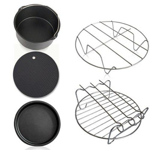 Kitchen Set Creative Fryer Accessories 8Pcs/Set Air Fryer Accessories Set Cooking Tool Baking Kitchen Tools Utensil Drop Shippin