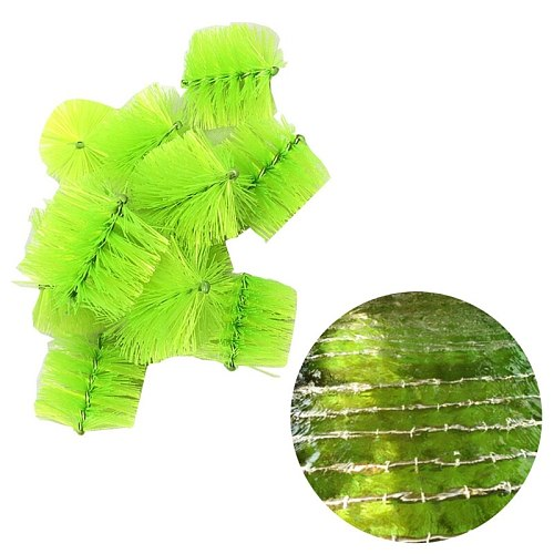 10 Pcs/Pack Pond Filter Brushes Pre-filter Skimmer Brush Replacement Filtration System Aquarium Fish Tank Cleaning Tools