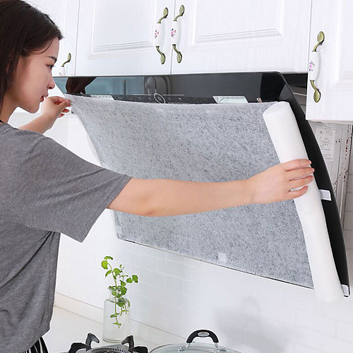 5M/10M Clean Cooking Nonwoven Range Hood Grease Filter Kitchen Oil Filter Papers Good Material And Good Air Permeability