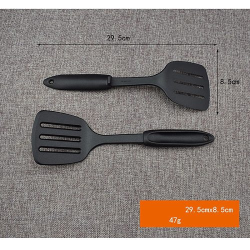 Silicone Slotted Turner Kitchen Cooking Tools Spatula Fried Shovel Egg Fish Frying Pan Turners Scoop Cooking