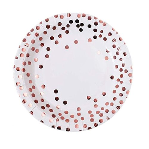 10pcs /lot Rose Gold Foil Dot Paper Napkin For Boy Girl Gender Reveal Party Tissue Napkin Decoration Serviettes 33*33cm