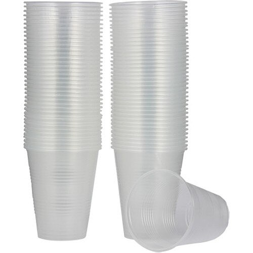 Plastic Use Horse Water and Soft Drinks Cup 180 cc 1000 Pcs