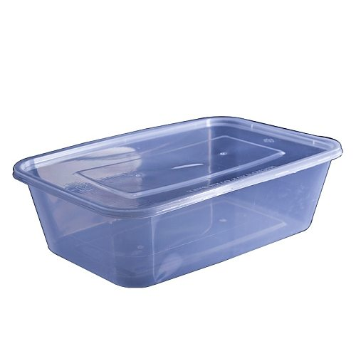 Transparent Fruit Carry Out Box Disposable Salad Meal Containers Fast Food Storage Box Take Out Packing Box Food Container