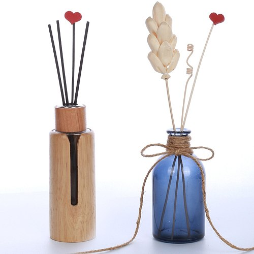 Daisy Flower Rattan Reeds Fragrance Diffuser Non-fire Replacement Refill Sticks Home Room Aromatic Incense Diffuser