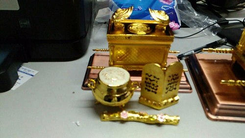 ark covenant high grade ornament  christian ten commandments souvenir home decoration church gift