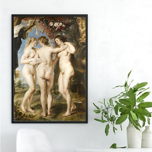 Rubens Quotes Wall Art the Passion of Jesus Canvas Poster Print Retro Canvas Painting Picture for Living Room Decoration