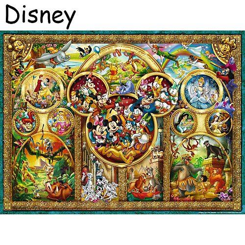 Disney 5D DIY Diamond embroidery Cross stitch Cartoon Full Square/Round Diamond mosaic Diamond painting decoration