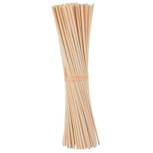 50pcs 24cm*3mm Aroma Nature Rattan Sticks Reed Diffuser Sticks for Home Fragrance Air Freshener
