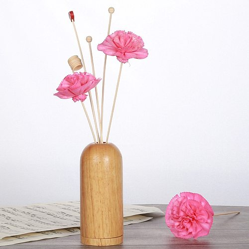 5 Pcs/Set Artificial Flower Rattans Sticks Fragrance Diffuser Aroma Reed Oil Diffuser Refill Stick DIY Home Room Decoration