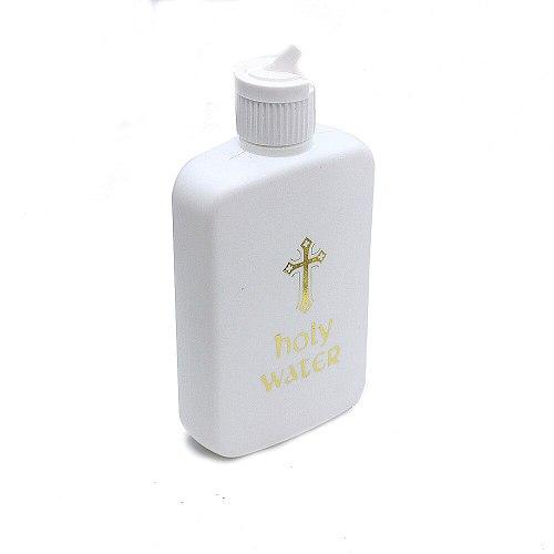 Religious articles Easter holy water bottle 100ML Cross stamping LOGO of plastic bottle  Religious ornament