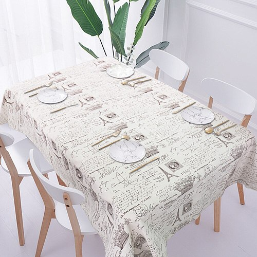 Green Leaves Tablecloth Pastoral American Country style Plant Table Cloth Cover Hiag Quality Nappe Manteles