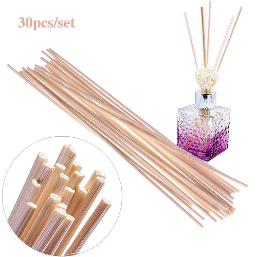 30Pcs Rattan Reed Sticks Fragrance Reed Diffuser Aroma Oil Diffuser Rattan Sticks for Home Living Room Aromatic Incense