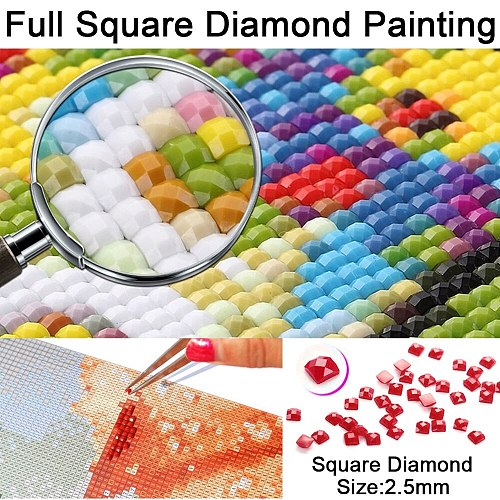 Full Square/Round Drill 5D DIY Diamond Painting  Animal dinosaurs  3D Embroidery Cross Stitch 5D Rhinestone Home Decor Gift