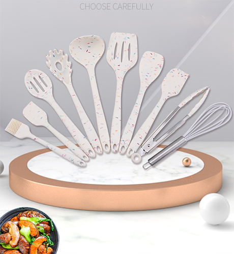 Silicone Cooking Cookware Heat-resistant Kitchen Utensils Cookware Kitchenware Bar supplies Cookware set