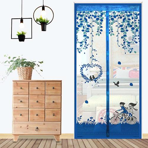 Summer Mesh Net Anti Mosquito Insect Fly Bug Curtain Automatic Closing Door Screen Kitchen Curtain 10 Size Fly Screen Inset Net