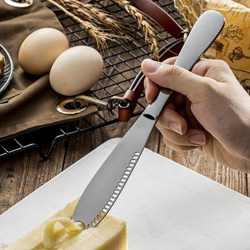 1Pcs Multifunction Stainless Steel Butter Knife Cream Knife Western Bread Lzr Knife Cream Cutter Utensils Cutlery Dessert Tool