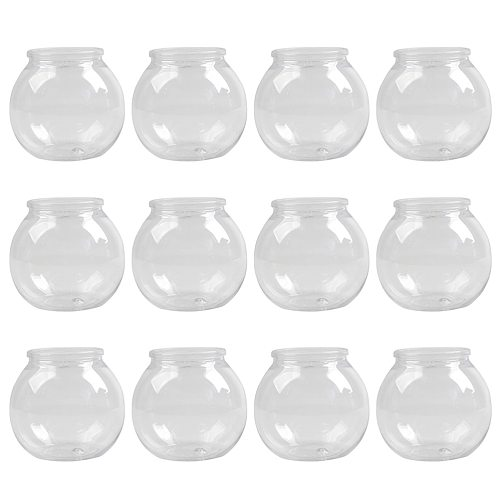 12pcs 160ml Yogurt Cups Jelly Cups Dessert Containers Dessert Cup for Home Shop Office