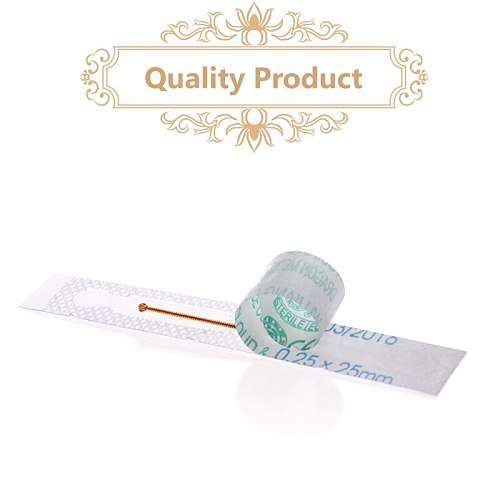 new 100 pcs cloud & dragon disposable copper handle knife needle acupuncture sharp blade needle without tube free shipping