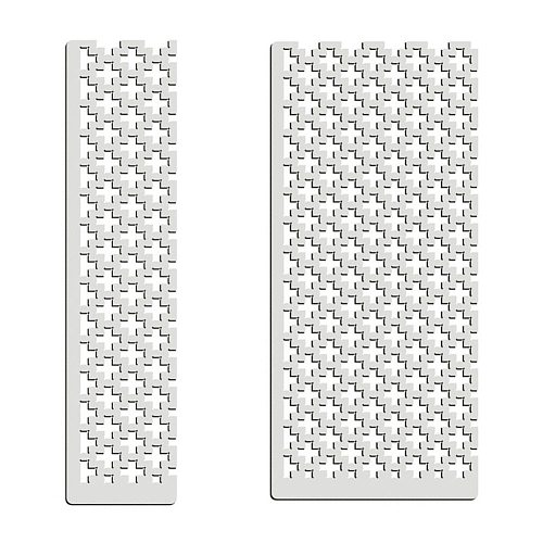 Drill Cross Stitch Ruler Diamond Painting 125 Square Tools Embroidery Retro Envelope Birthday Card Fire Painting Supply