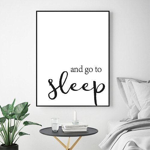 God Bible Verse Quote Prints Print Christian Wall Art Canvas Painting Black White Wall Pictures Scripture Poster Bedroom Decor